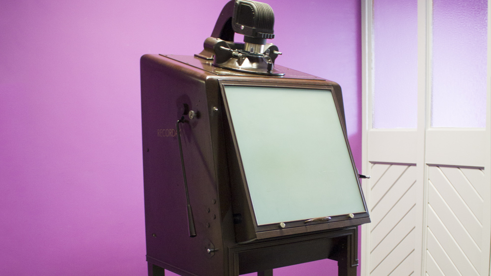 Have You Seen A Microfilm Reader Older Than This?